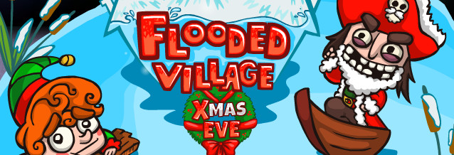 Flooded Village Xmas Eve