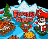Flooded Village Xmas Eve 2